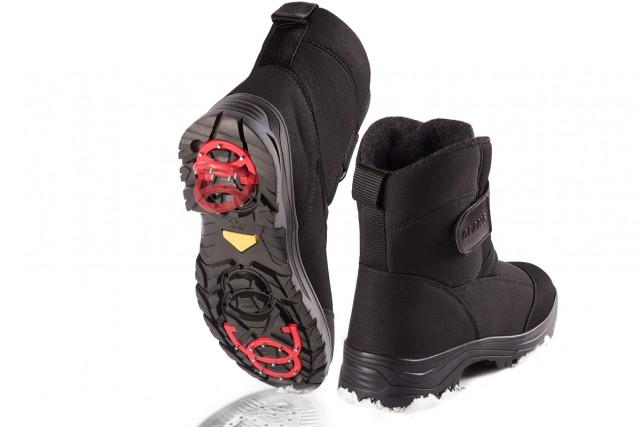 Marcher par une froide journée d'hiver, poser le pied sur une plaque de glace... (Photo fournie par Olang)