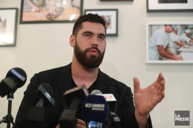 Laurent Duvernay-Tardif... (Photo Martin Chamberland, archives La Presse)