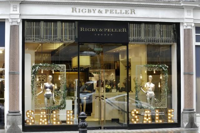 Rigby & Peller, fondée en 1939 et qui... (PHOTO AP)