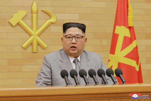 Lors de son adresse à la Nation du... (PHOTO REUTERS)