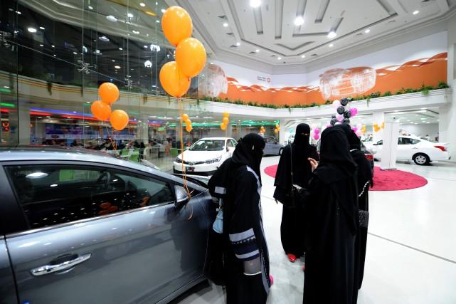 L'Arabie saoudite était le seul pays au monde... (PHOTO AFP)