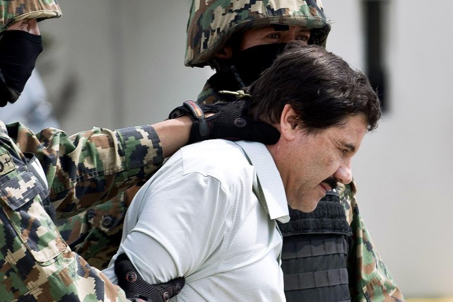 Interpellé en janvier 2016 au Mexique et extradé... (PHOTO AFP)