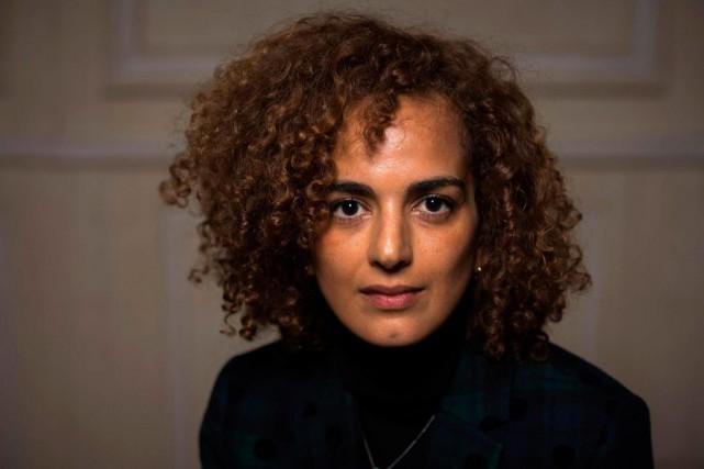 L'auteure Leila Slimani... (photoLionel BONAVENTURE, agence france-presse)