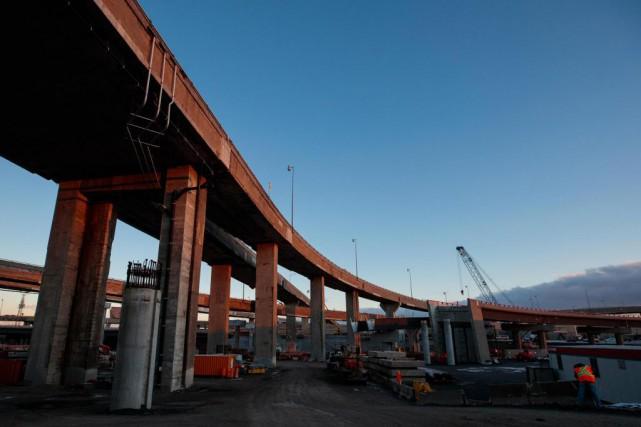 L'échangeur Turcot sera presque complètement fermé durant toute... (Photo Hugo-Sébastien Aubert, Archives La Presse)