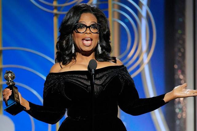 Aussi populaire que soit Oprah Winfrey, 35% seulement... (PHOTO PAUL DRINKWATER, AP/NBC)
