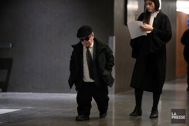 L'acteur Paul Cagelet, lors de sa comparution au... (Martin Chamberland, archives La Presse)
