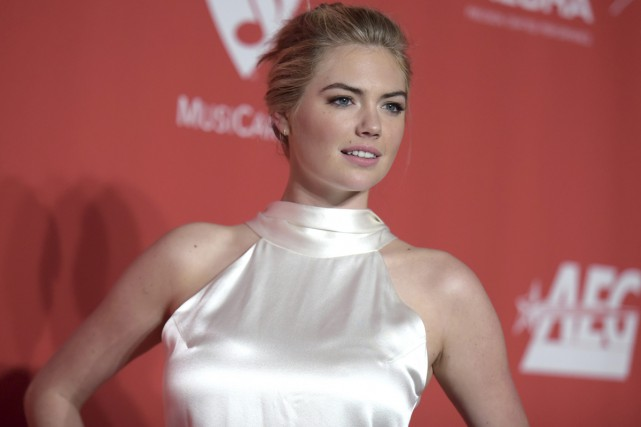 La mannequin Kate Upton... (Photo archives AP)