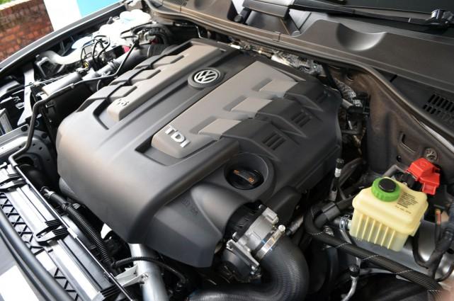 Un V6 diesel truqué. On en trouve dans...