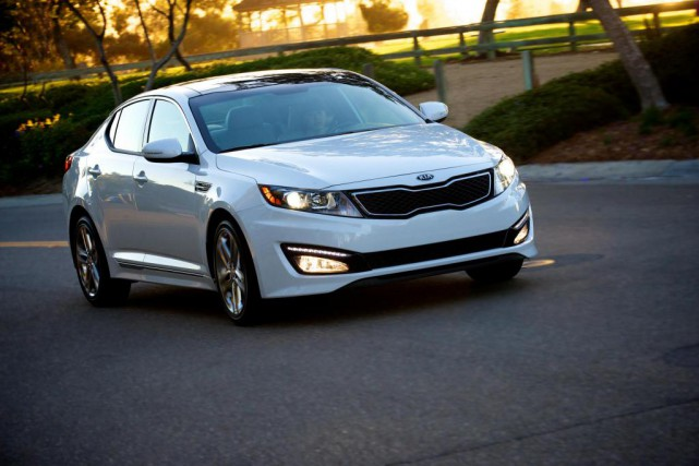 Kia Optima 2013... (Photo fournie par Kia)