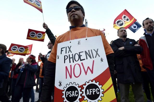 Dans un communiqué diffusé vendredi, le syndicat dit... (PHOTO ARCHIVES LA PRESSE CANADIENNE)