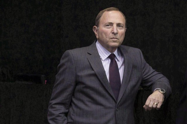 Le commissaire de la LNH, Gary Bettman... (Photo archives La Presse canadienne)