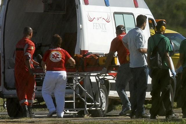 Les blessés, dont 12 dans un état grave,... (PHOTO ARCHIVES REUTERS)