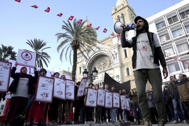 Plusieurs manifestations étaient prévues dans la matinée de... (AP)