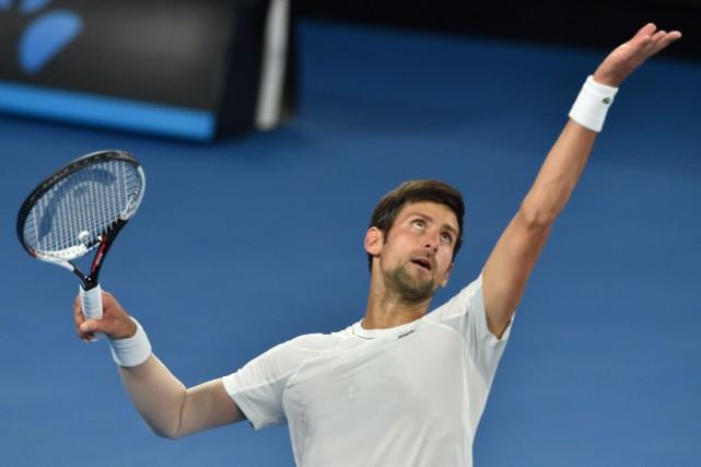 Novak Djokovic... (AFP)