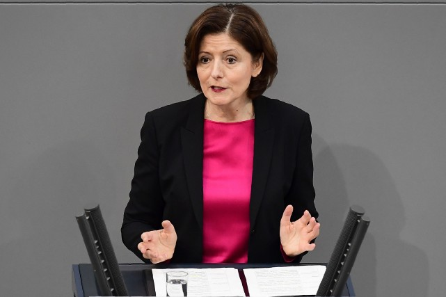 La dirigeante de l'État de Rhénanie-Palatinat, Malu Dreyer,... (Photo Tobias Schwarz, archives Agence France-Presse)