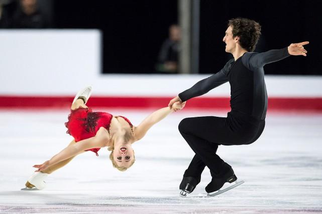 Julianne Séguin et Charlie Bilodeauen seront à leur... (PHOTO JONATHAN HAYWARD, LA PRESSE CANADIENNE)