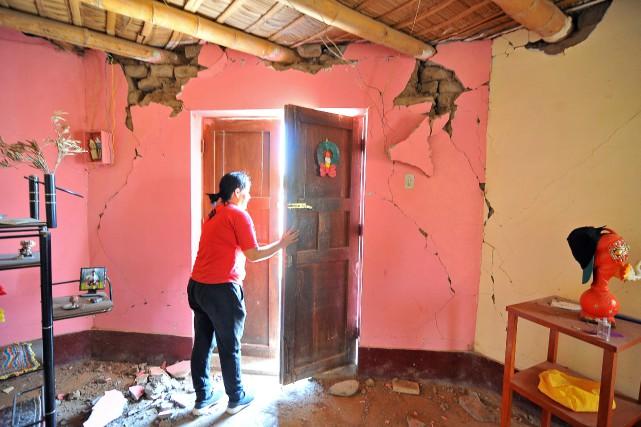 Le séisme, qui a été ressenti jusqu'à Lima,... (PHOTO REUTERS)