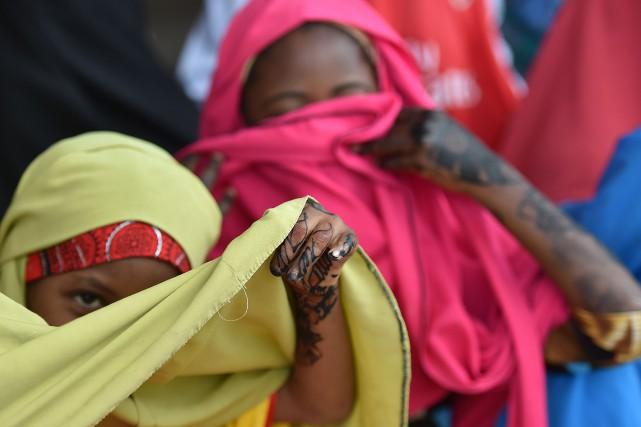 Selon HRW, des centaines d'enfants ont quitté leur... (Photo Tony Karumba, archives Agence France-Presse)