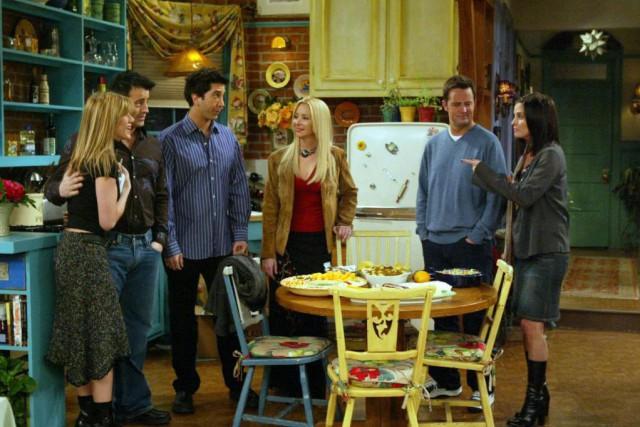 Les comédiens de Friends. De gauche à droite:... (PHOTO FOURNIE PAR WARNER BROS)