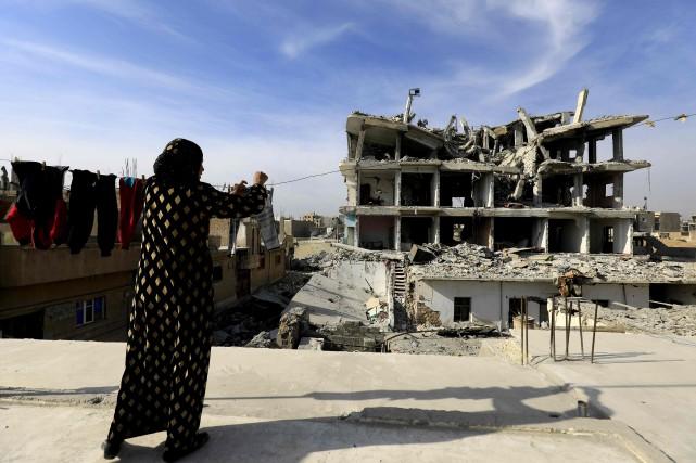 Les pourparlers n'ont été confirmés ni par l'ONU... (PHOTO Delil souleiman, AFP)