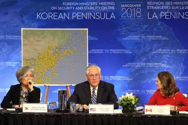 La ministre sud-coréenne des Affaires étrangères, Kang Kyung-wha,... (PHOTO REUTERS)
