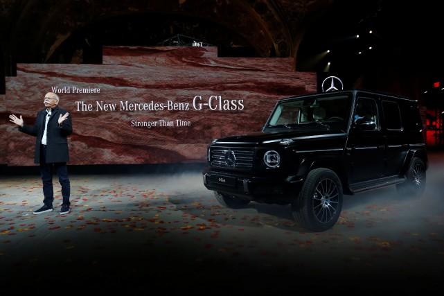 Le grand patron de Daimler, Dieter Zetsche, n'est... (photo REUTERS)