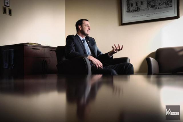 En entrevue avec LaPresse, le porte-parole de la... (PHOTO OLIVIER JEAN, LA PRESSE)