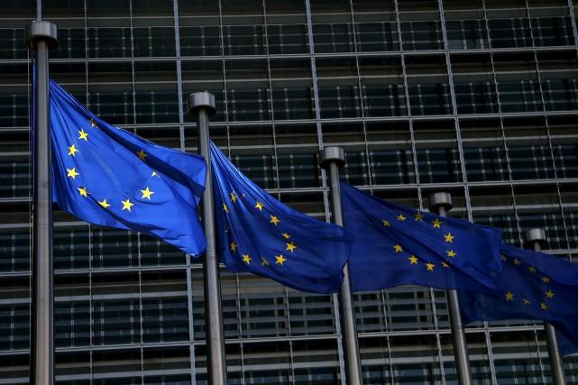 Les Européens, mis au pied du mur par Donald Trump, doivent trouver d'ici la... (PHOTO ARCHIVES REUTERS)