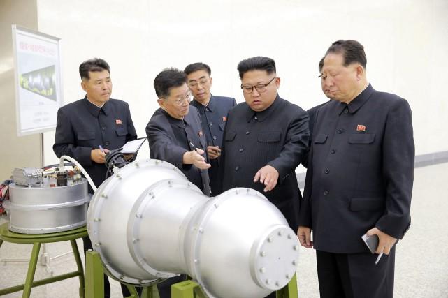 Le président américain estime que la Corée du... (PHOTO AP)