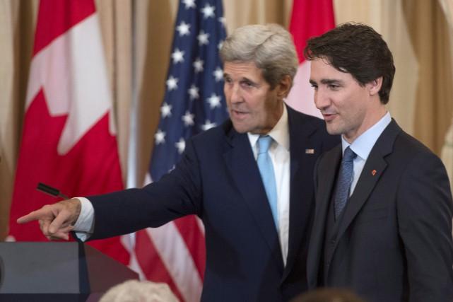 Trudeau dit avoir échangé sur Donald Trump avec John Kerry chez l'Aga Khan