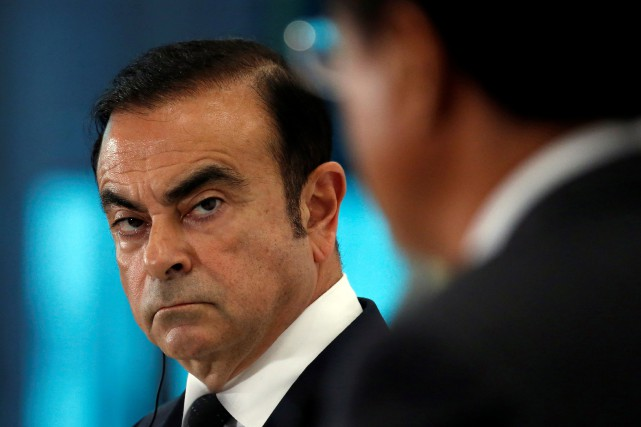 Quand Carlos Ghosn entre dans une pièce, on... (photo REUTERS)