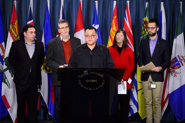 Cette coalition s'oppose au projet de dépotoir nucléaire... (Sean Kilpatrick, PC)
