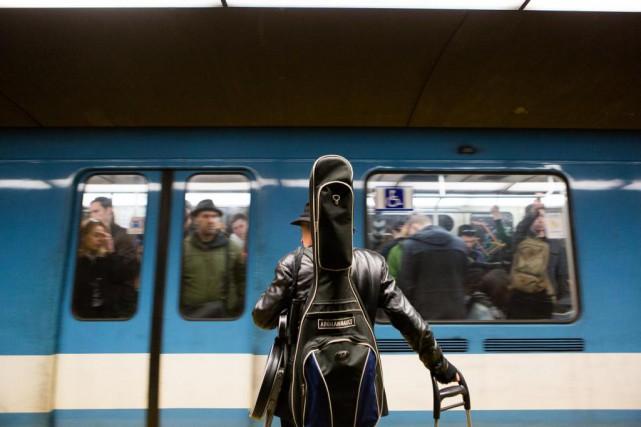Le prolongement prochain de la ligne bleue du... (PHOTO NINON PEDNAULT, ARCHIVES LA PRESSE)