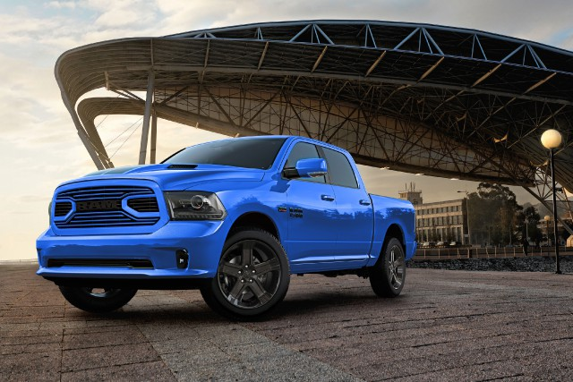Ram 1500 Hydro Blue Sport... (PHOTO FOURNIE PAR LE CONSTRUCTEUR)