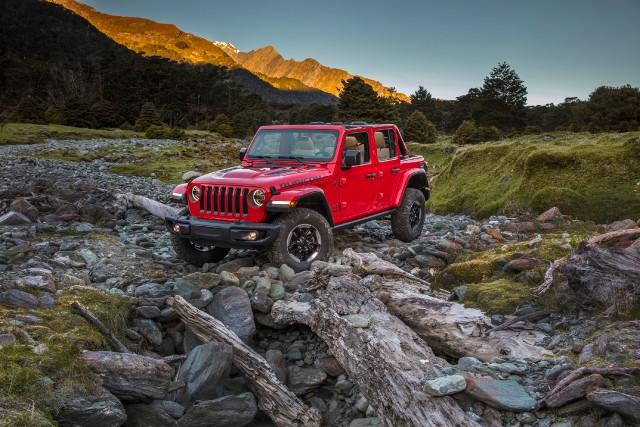 Le Jeep Wrangler... (Photo fournie par le constructeur)