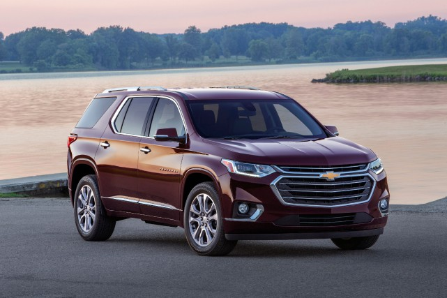 Le Chevrolet Traverse... (PHOTO FOURNIE PAR LE CONSTRUCTEUR)
