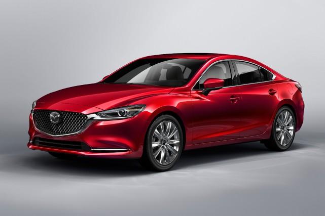 La Mazda 6... (PHOTO FOURNIE PAR LE CONSTRUCTEUR)