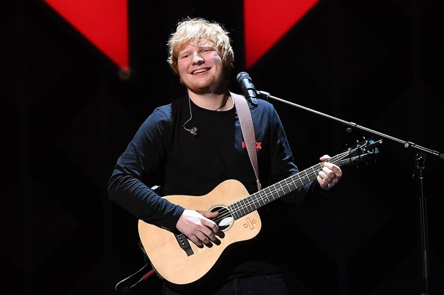 Ed Sheerana annoncé samedi qu'il allait épouser sa... (PHOTO ANGELA WEISS, ARCHIVES AGENCE FRANCE-PRESSE)