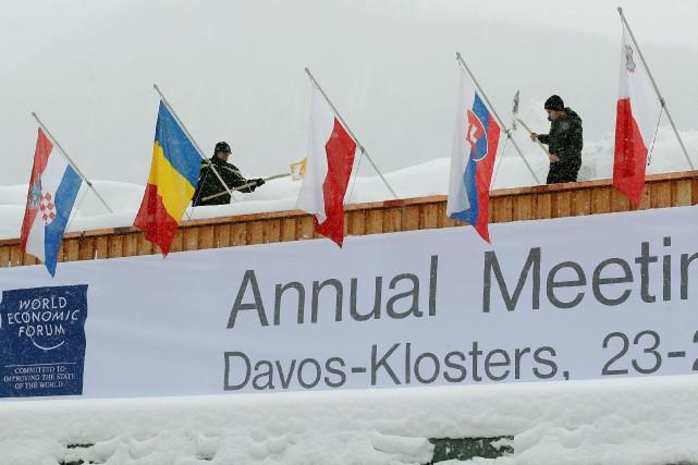Incertitude sur le déplacement de Trump à Davos