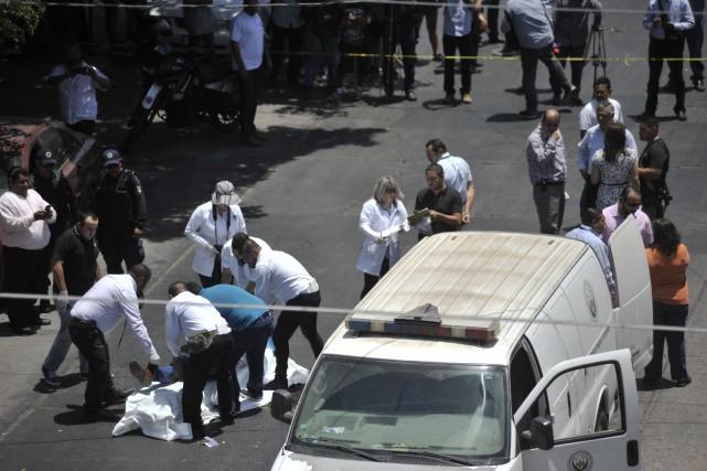 Mexique: 25339 homicides en 2017, record en 20ans
