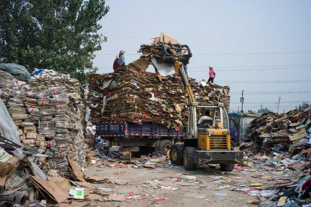 Depuis le 1erjanvier, la porte du géant asiatique... (Photo Fred Dufour, archives Agence France-Presse)