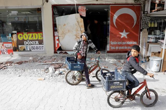 D'après l'agence de presse étatique Anadolu, l'armée turque... (REUTERS)