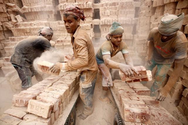 Un rapport publié par Oxfam indique que 82%... (REUTERS)