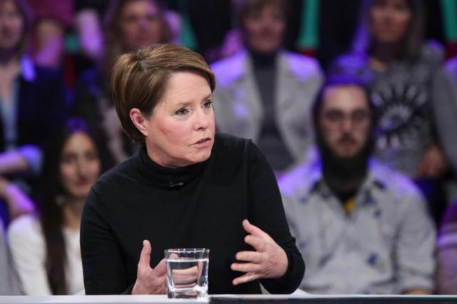 Michèle Ouimet... (Photo Karine Dufour, fournie par Ici Radio-Canada Télé)