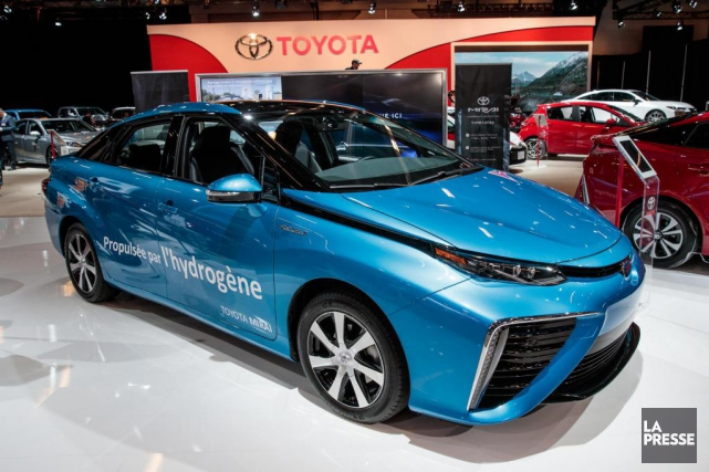 toyota mirai hydrog ne plus qu 39 une exp rience scientifique ric lefran ois salons. Black Bedroom Furniture Sets. Home Design Ideas