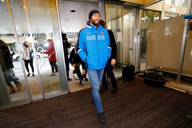 Le patineur de vitesse Alexander Rumyantsev est l'un... (Photo Pierre Albouy, Reuters)