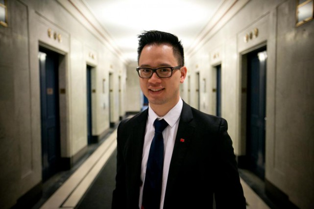 David Truong, conseiller au Centre d'expertise de Banque... (Photo François Roy, La Presse)
