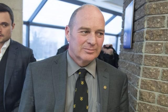 Thomas Harding,le chef de train impliqué dans la... (Photo Ryan Remiorz, PC)