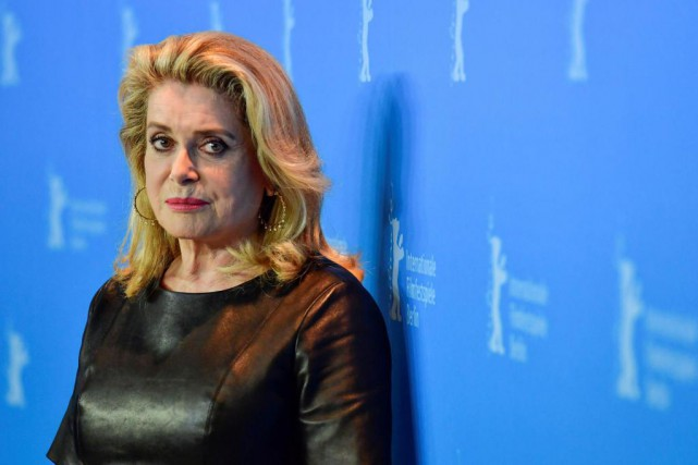 L'actrice Catherine Deneuve photographiée à la 67e édition... (PHOTO AFP)