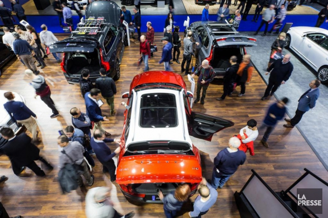 Le Salon de l'auto de Montréal, qui s'est... (Photo Edouard Plante-Fréchette, La Presse)